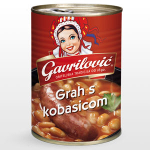 Bean Soup WIth Sausage 400g x 15