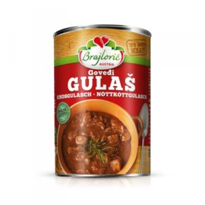 Beef Hulash Halal 400g x 6