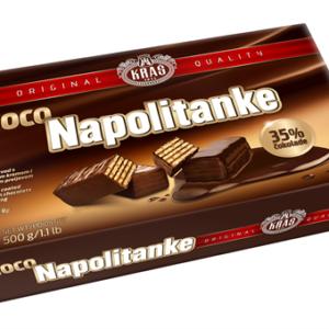 Choco Napolitanke 500g x 12
