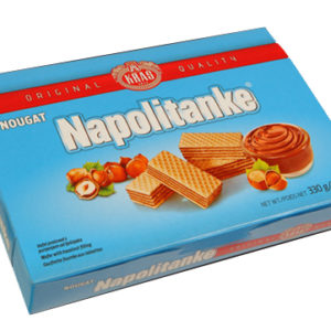 Napolitanke Nougat 330g x 12