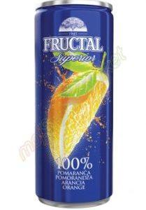 Orange Juice Cans 250ml x 12